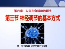 《神经调节的基本方式》人体生命活动的调节PPT课件3