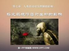 《探究�h境污染�ι�物的影�》人�活��ι�物圈的影�PPT�n件2