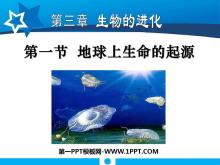 《地球上生命的起源》生物的进化PPT课件6