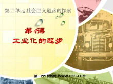 《工业化的起步》社会主义道路的探索PPT课件6