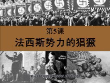 《法西斯势力的猖獗》凡尔赛-华盛顿体系下的世界PPT课件2