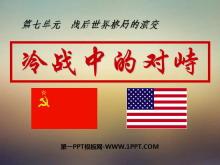 《冷战中的对峙》战后世界格局的演变PPT课件3