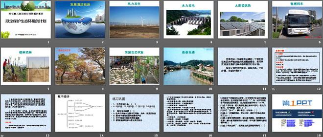 《拟定保护生态环境的计划》人类活动对生物圈的影响PPT课件2