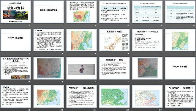 《八下册年级地理总v下册》PPT课件-第一PP齐家六加一教案礼仪图片