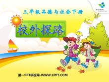 《校外探路》寻路和行路PPT课件2