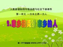 《家乡的美景家乡的人》一方水土养一方人PPT课件2