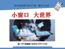 《小窗口大世界》通信与生活PPT课件2