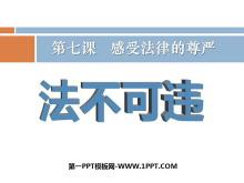 《法不可违》感受法律的尊严PPT课件7