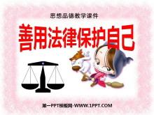 《善用法律�;ぷ约骸贩�律护我成长PPT课件2