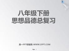《八年级下册思想品德总复习》PPT课件3