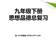 《九年级下册思想品德总复习》PPT课件5