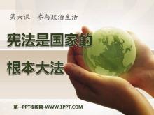 《宪法是国家的根本大法》参与政治生活PPT课件5