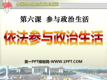 《依法参与政治生活》参与政治生活PPT课件3