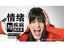 情绪与疾病的关系幻灯片下载