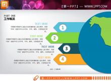 十二张大气实用的PPT图表整套下载