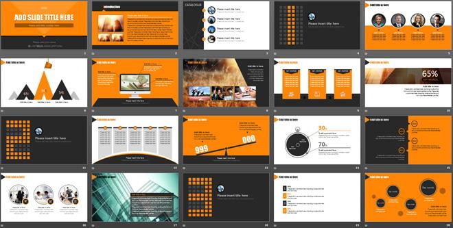 ppt关系图,ppt素材,内容图文并茂,非常实用;整套幻灯片模板欧美风格