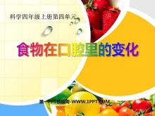 《食物在口腔里的变化》我们的身体PPT课件