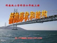 《桥的形状和结构》形状与结构PPT课件