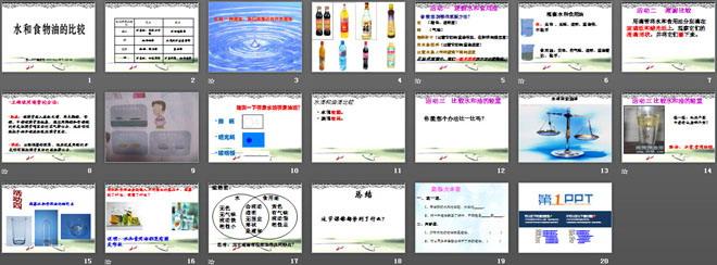《水和食物油的比较》水和空气ppt课件3