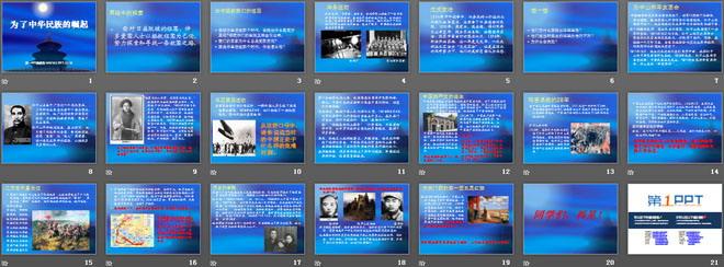 为了中华民族的崛起 不屈的中国人PPT课件5