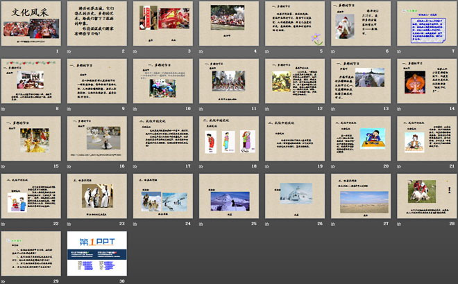 《文化采风》漫游世界ppt课件5