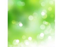 绿色光晕唯美PPT背景图片(二)