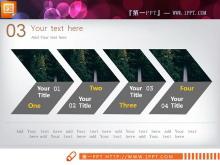 绿色低碳科技PPT图表整套下载