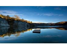 山川湖泊自然PPT背景图片