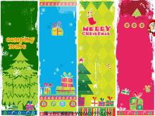 炫丽缤纷多彩圣诞节动画