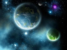 蓝色宇宙星空星球m88.com图片