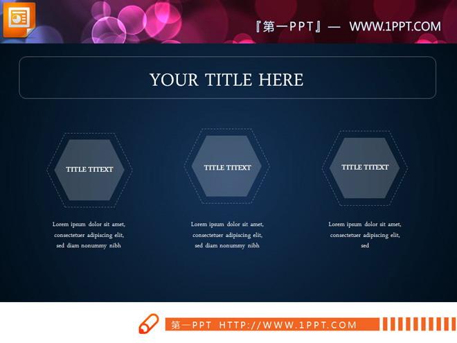 白色扁平IOS风格PPT图表整套下载