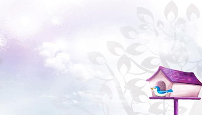 这是一张紫色淡雅卡通PPT背景图片,第一PPT模板网提供幻灯片背景图片免费下载; PPT背景图片用紫色作为主题色,非常淡雅,灰色的卡通树木图案作为底图,PPT背景图片右下角是非常淡雅、温馨,的小房子是蓝色小鸟的家……,这张背景图片适合用于制作通用题材的PPT; 关键词:紫色PPT背景图片,淡雅PPT背景图片,卡通PPT背景图片,.