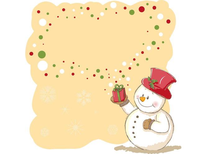 这是一张雪人黄色背景边框PPT背景图片,第一PPT模板网提供幻灯片背景图片免费下载; PPT背景图片右下角有一个戴着红色帽子,手里举着红色礼物的雪人,礼物上面有一圈泡沫形状的圆点构成的PPT边框;本背景图片适合用于制作圣诞节幻灯片; 关键词:黄色PPT背景,雪人PPT背景图片,卡通PPT背景图片,边框PPT背景图片,.