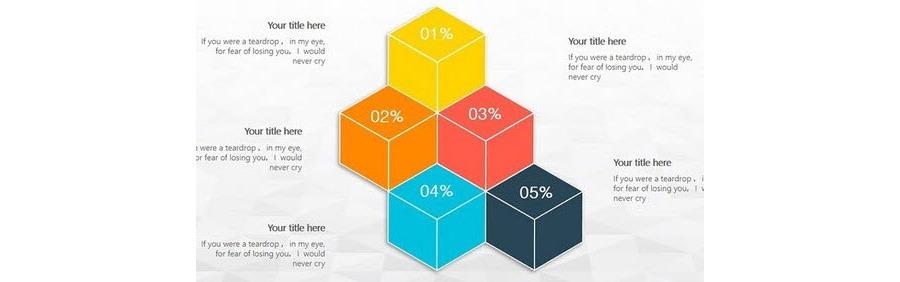 如何快速绘制立体方块图形设计?
