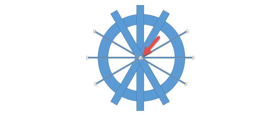 点击按住此处可_如何用PPT绘制设计一个分割型环形图? - 第一PPT