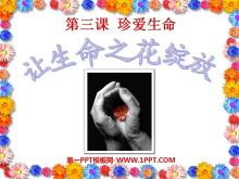 《�生命之花�`放》珍�凵�命PPT�n件2