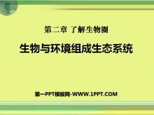《生物与环境组成生态系统》了解生物圈PPT课件9