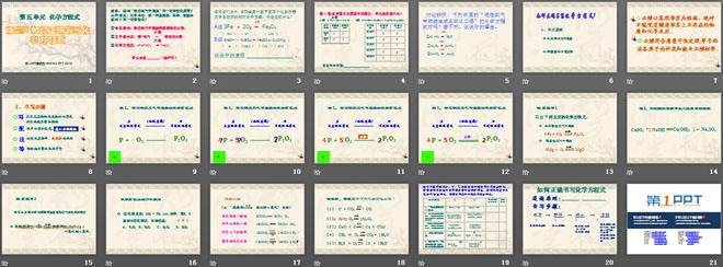 《如何正确书写化学方程式》化学方程式PPT课件9