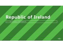 24张欧洲杯球服配色PPT模板