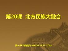 《北方民族大融合》政权分立与民族融合PPT课件7