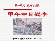 《甲午中日战争》侵略与反抗PPT课件7