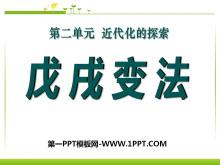 《戊戌变法》近代化的探索PPT课件7