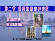 《世界的语言和宗教》居民与聚落PPT课件