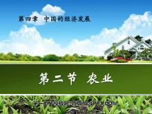 《农业》中国的经济发展PPT课件5