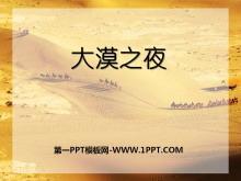 《大漠之夜》PPT课件