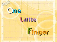 《one little finger》Flash�赢��n件