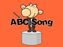 《abc song》Flash动画课件