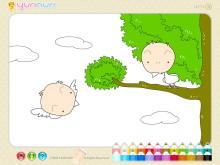 《儿童简笔画填色》Flash动画课件