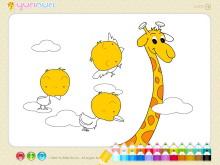《儿童简笔画填色》Flash动画课件2