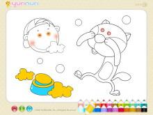 《儿童简笔画填色》Flash动画课件3